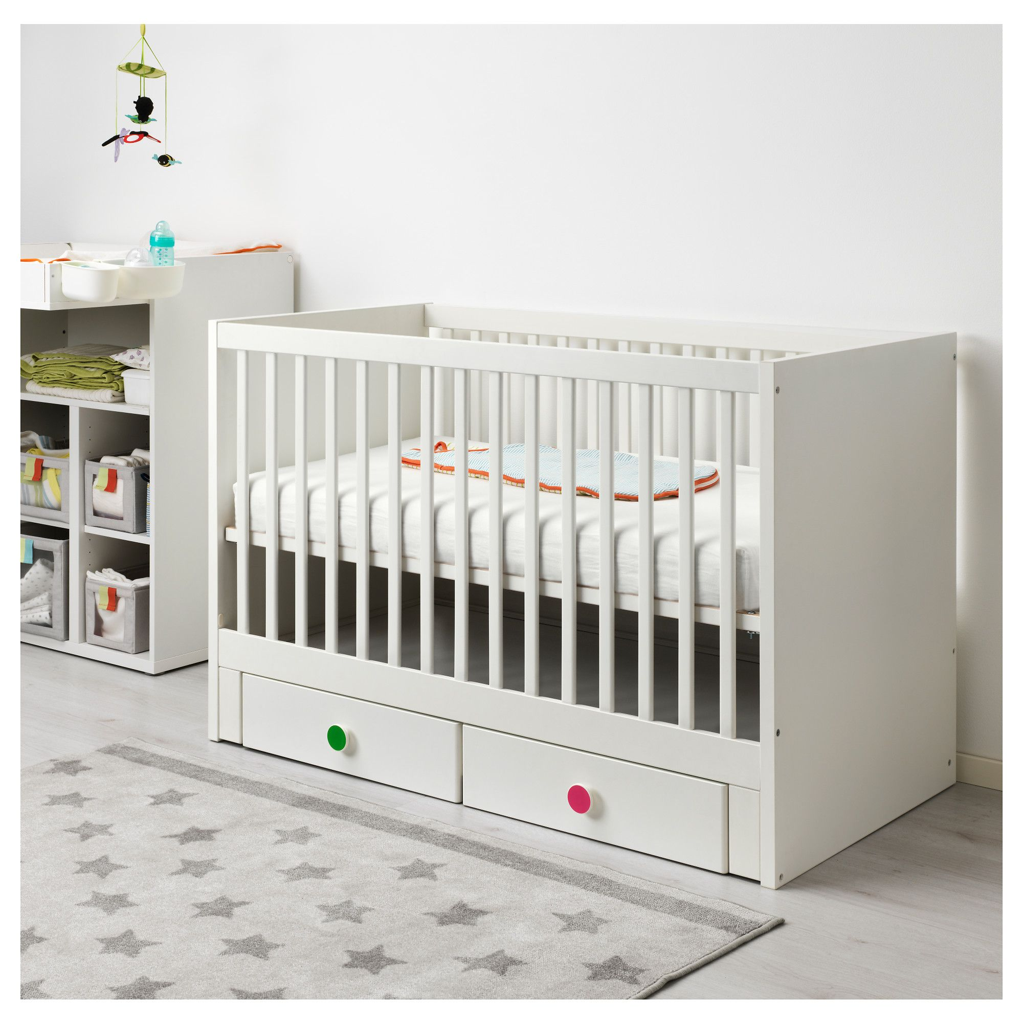 with oslo karla chocolate products toddler in cribs crib slate dubois drawers convertible