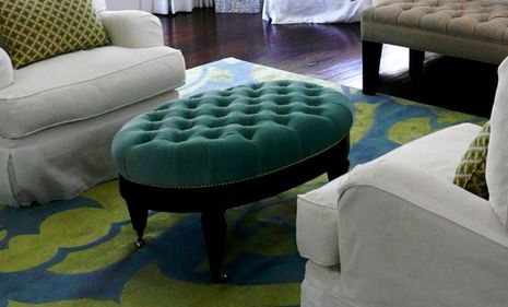 Oval Coffee Table Makeover Wood