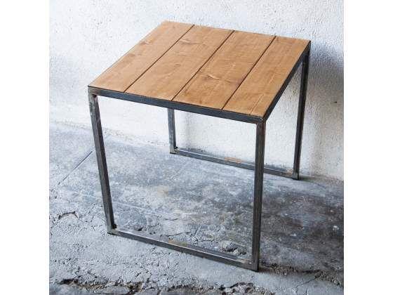 Tavolo in ferro brunito e legno cerca con google home pinterest tavolo google e legno - Tavolo legno ferro ...