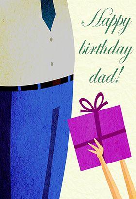Happy Birthday Dad Birthday Card Free Greetings Island Happy Birthday Dad Dad Birthday Birthday Card Printable