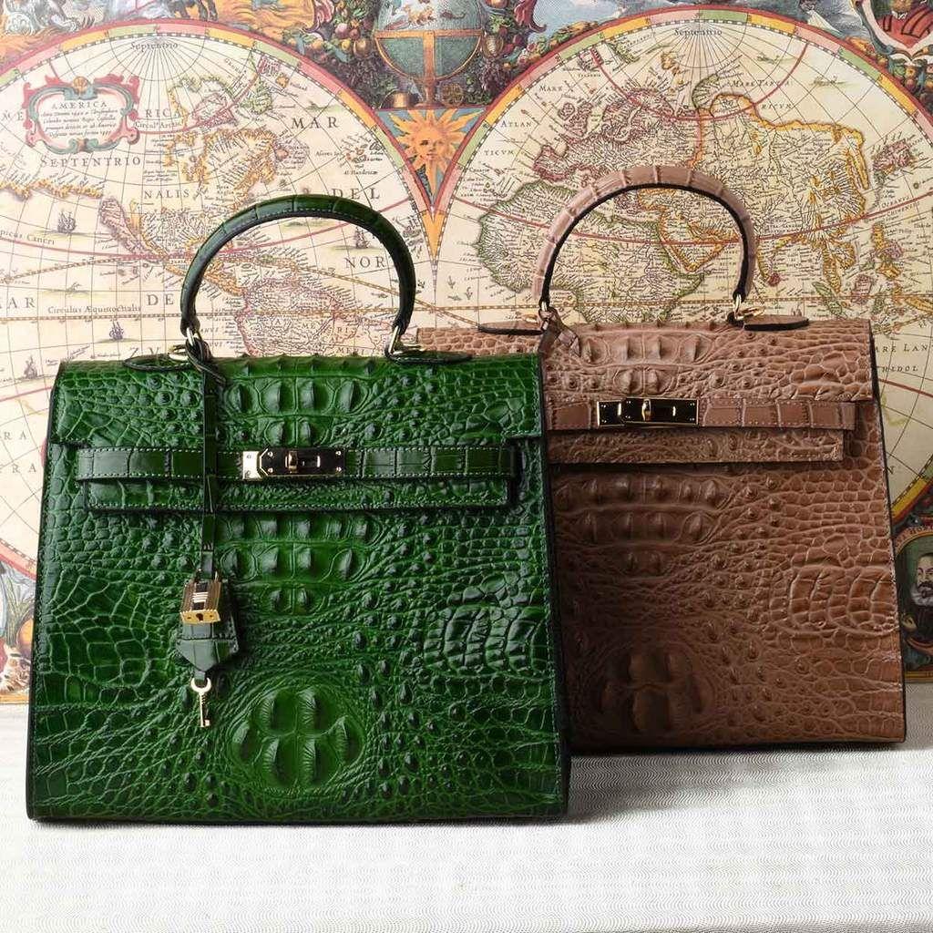 116bc323ab57 The Monaco Croco Bag