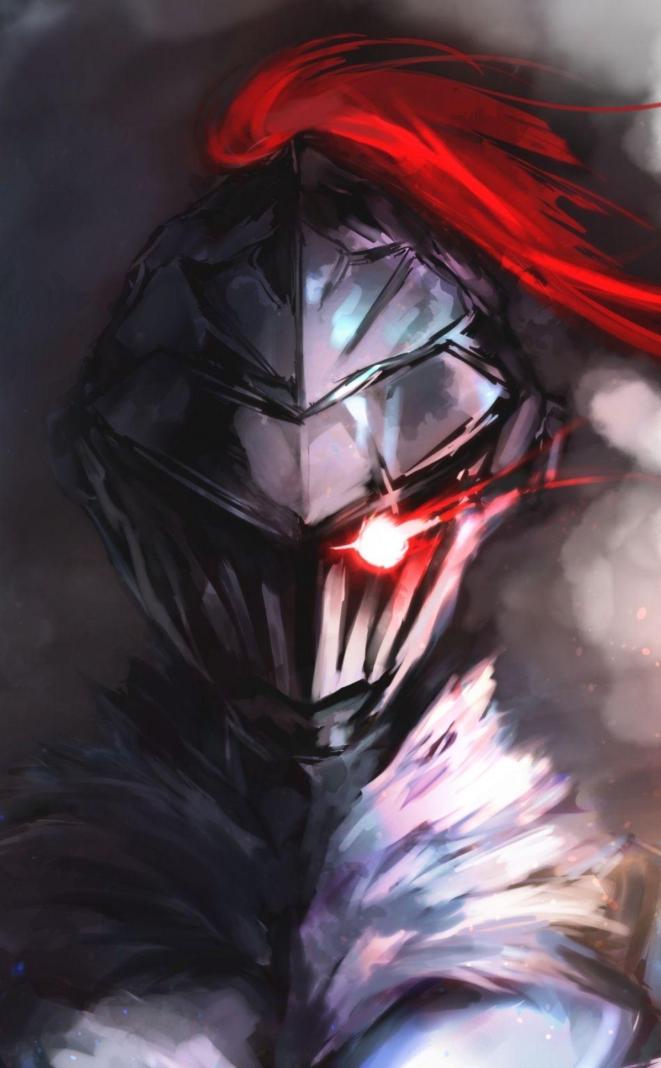 Artwork, anime, warrior, armor, goblin slayer, 950x1534
