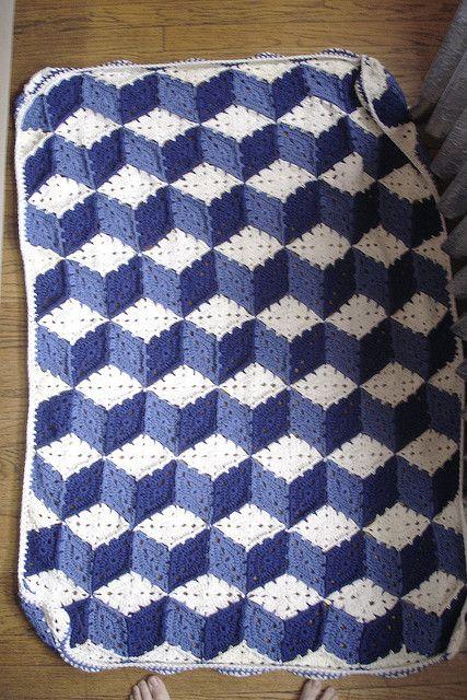 Baby Blocks Afghan By Purple Kitty - Free Crochet Pattern - (ravelry ...