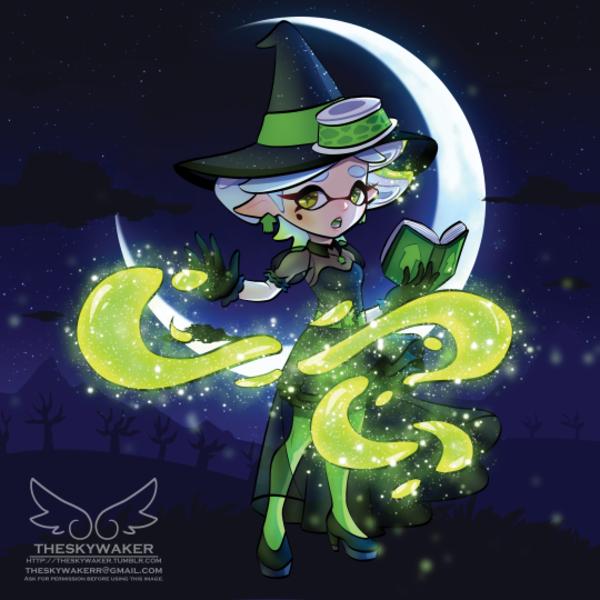 Witch Marie | Awwwwww! So cute! | Splatoon squid sisters