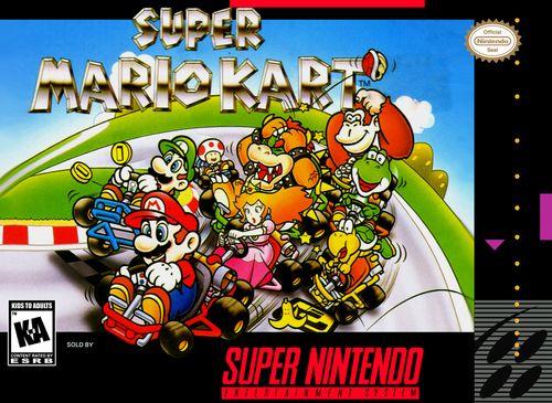 Super Mario Kart Snes Game Super Mario Kart Mario Kart Super Nintendo