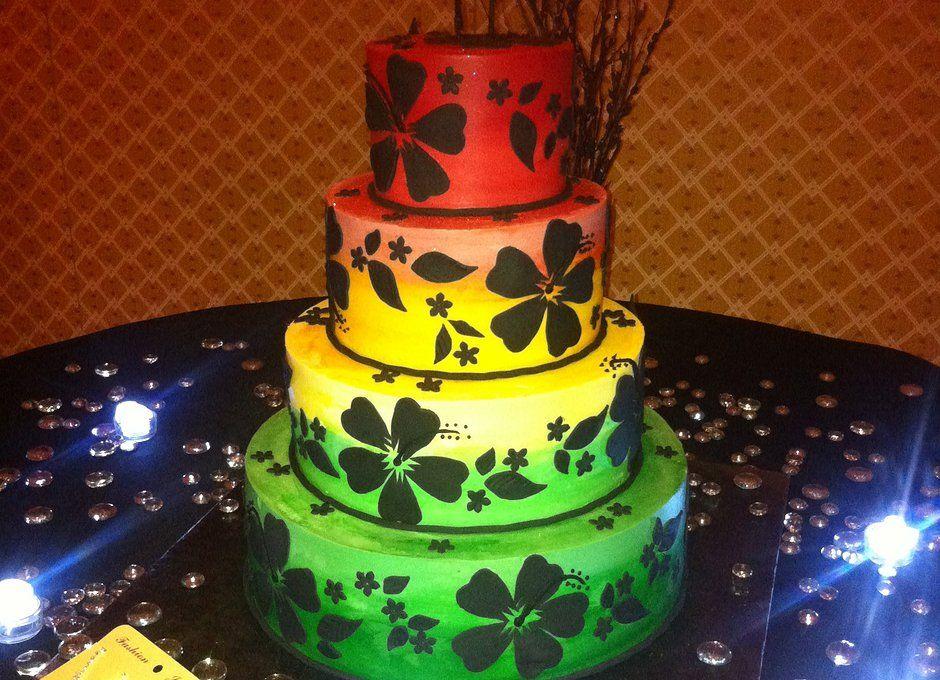 Rastafarian Wedding Cakes