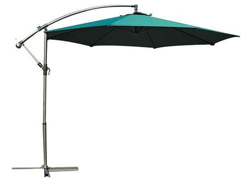 10 Round Offset Umbrella At Menards Offset Umbrella Patio Umbrella Outdoor Decor