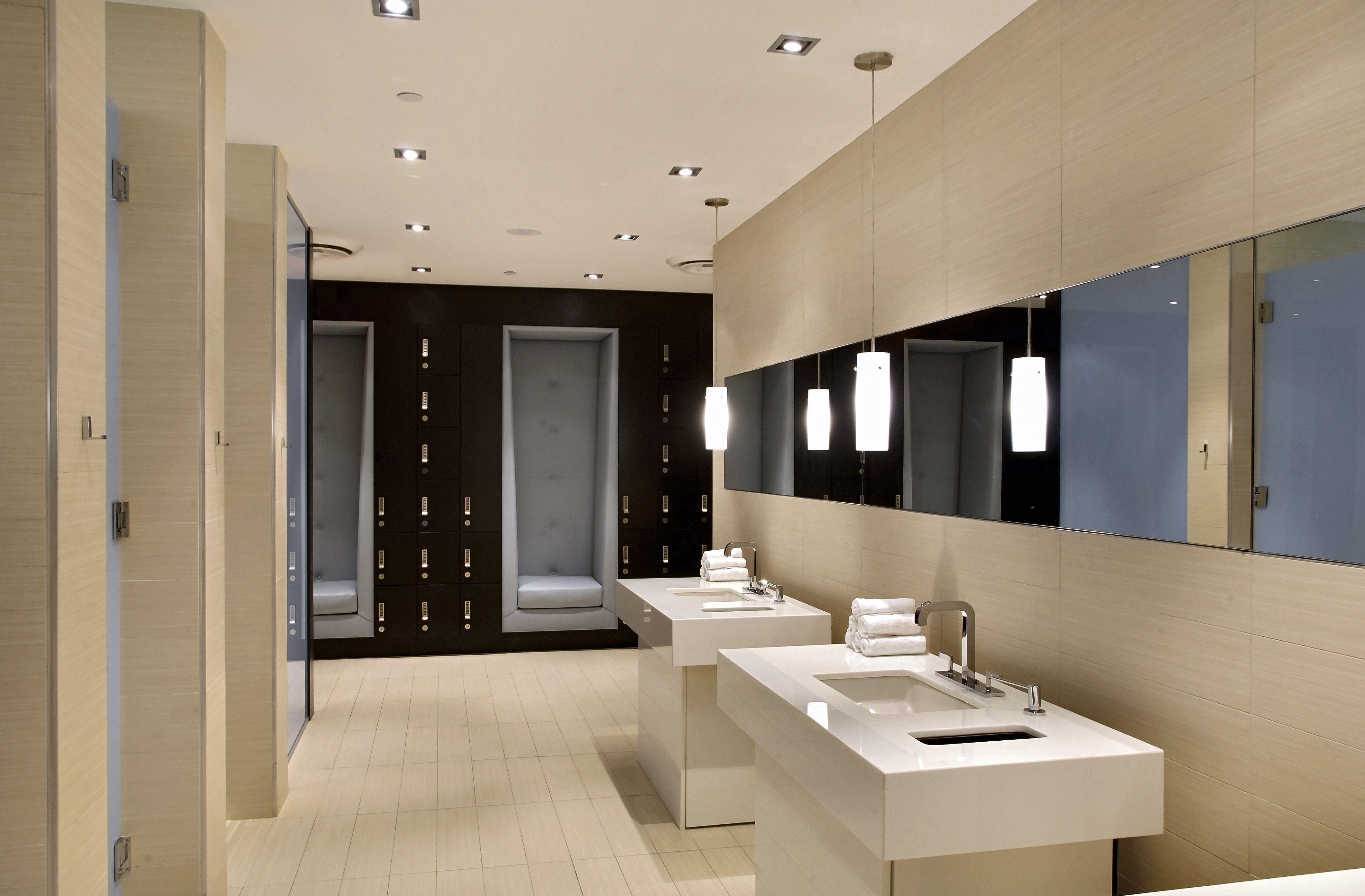 Sophisticated locker room interior designs picture