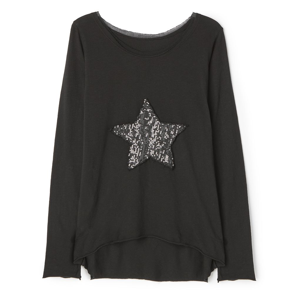 Camiseta star negra #camiseta #ss2015 #estrella #negro #star