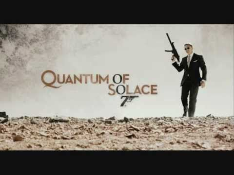 James Bond Another Way To Die Quantum Of Solace Theme