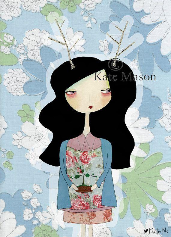 Kate Mason [Messy Miss Kate]  Freelance art + pattern + illustration katemason.com.au IG: @messymisskate
