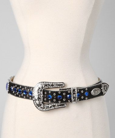 Take a look at this Royal Rhinestone Katydid Belt by Rhinestone Junkie on #zulily today!