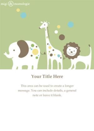 Baby Shower Electronic Invitations Templates To Help Your