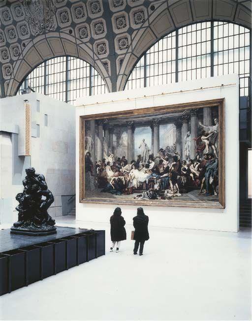 Thomas Struth, Musée d'Orsay II, Paris, 1989
