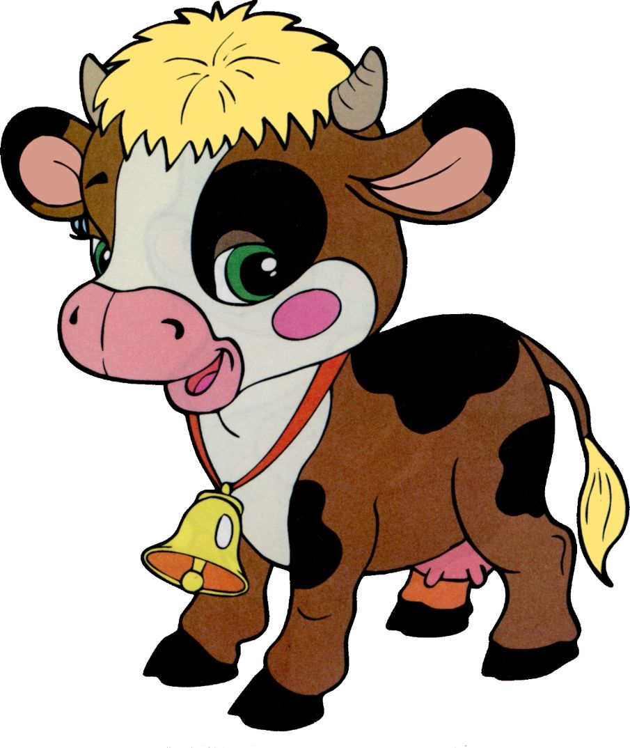Animals Farm cartoon, Cartoon cow, Baby farm animals