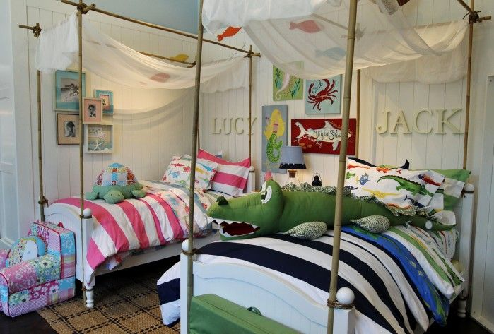 Design Options Abound For Shared Bedrooms Boy Girl