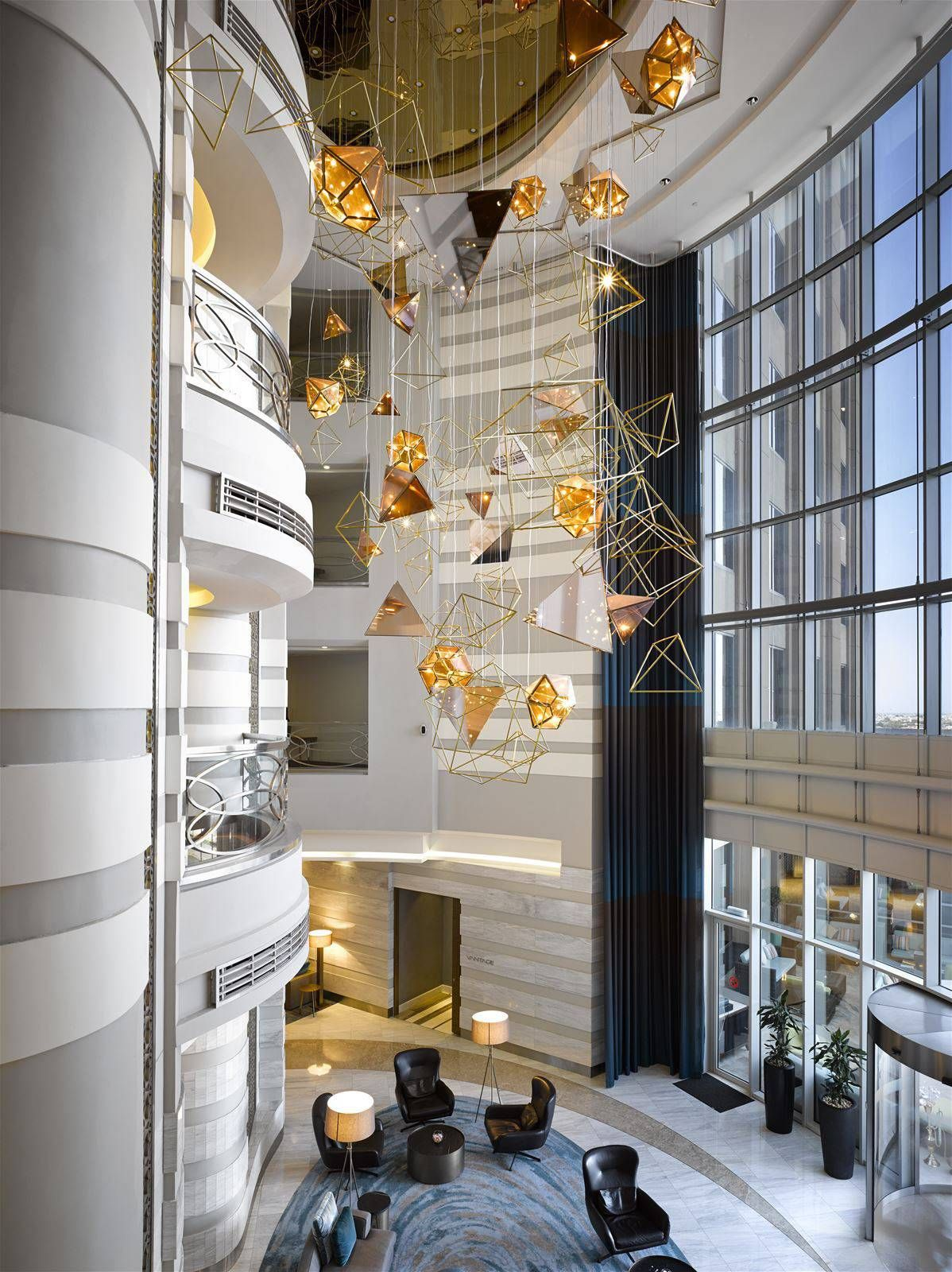 Preciosa lighting is an innovative company which creates for Design hotel group
