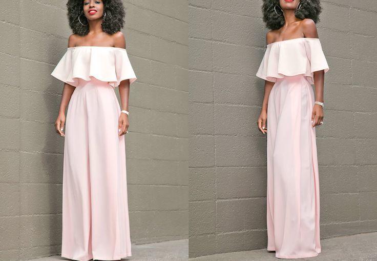 Diy Off Shoulder Blouse High Waist Trousers Easy Sewing Youtube Blouse Diy Off Shoulder Diy Sewing Dresses