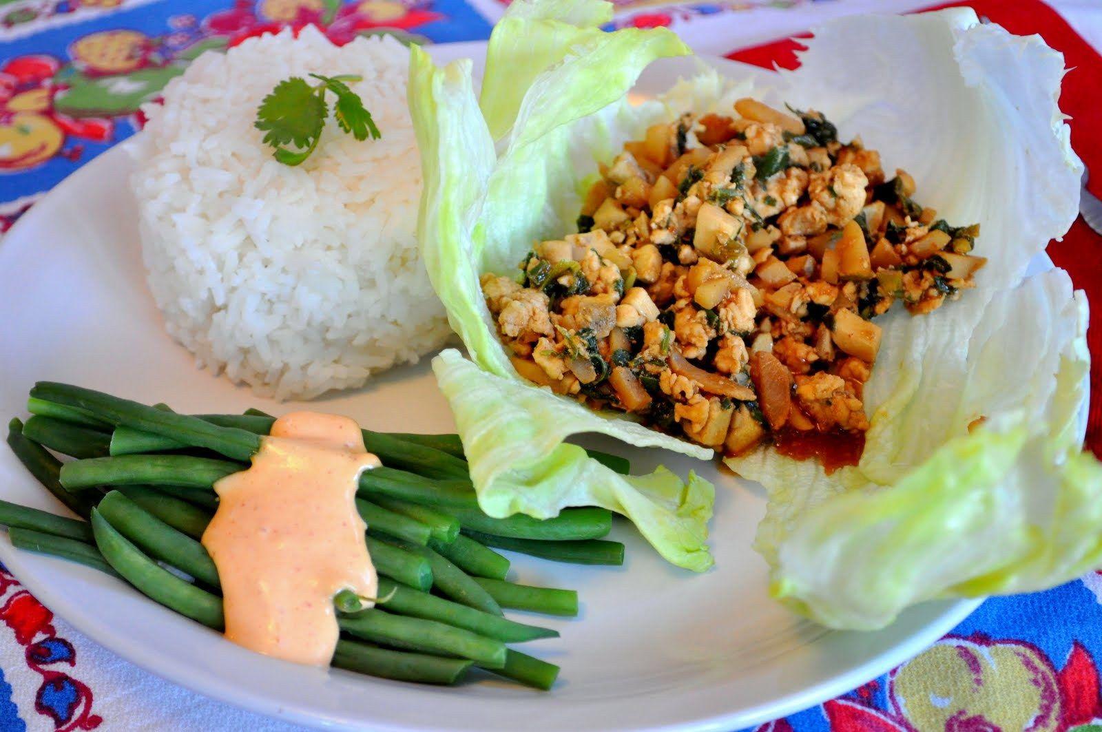 Chinese Chicken Lettuce Wraps » Farmgirl Gourmet