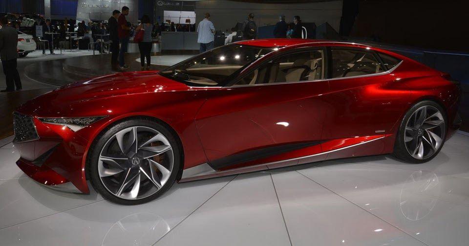 Acura Precision Concept Moves To The West Coast Calls La Home Concept Cars Detroit Motors Hot Cars