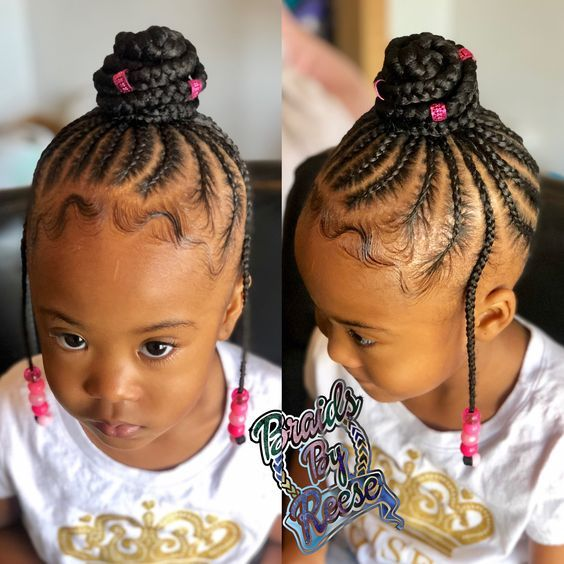 Pin By Cinthia A On Hairstyles Toddler Braided Hairstyles Kids Hairstyles Kids Braided Hairstyles