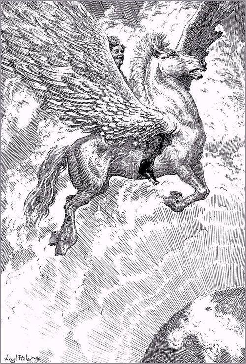 Virgil Finlayen Wikipedia Org Wiki Virgil Finlayselected By Alternative Art Alternative Art Art Pretty Horses