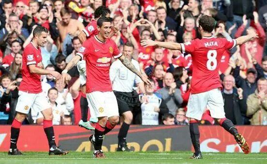 Di Maria and Mata: goal and assist