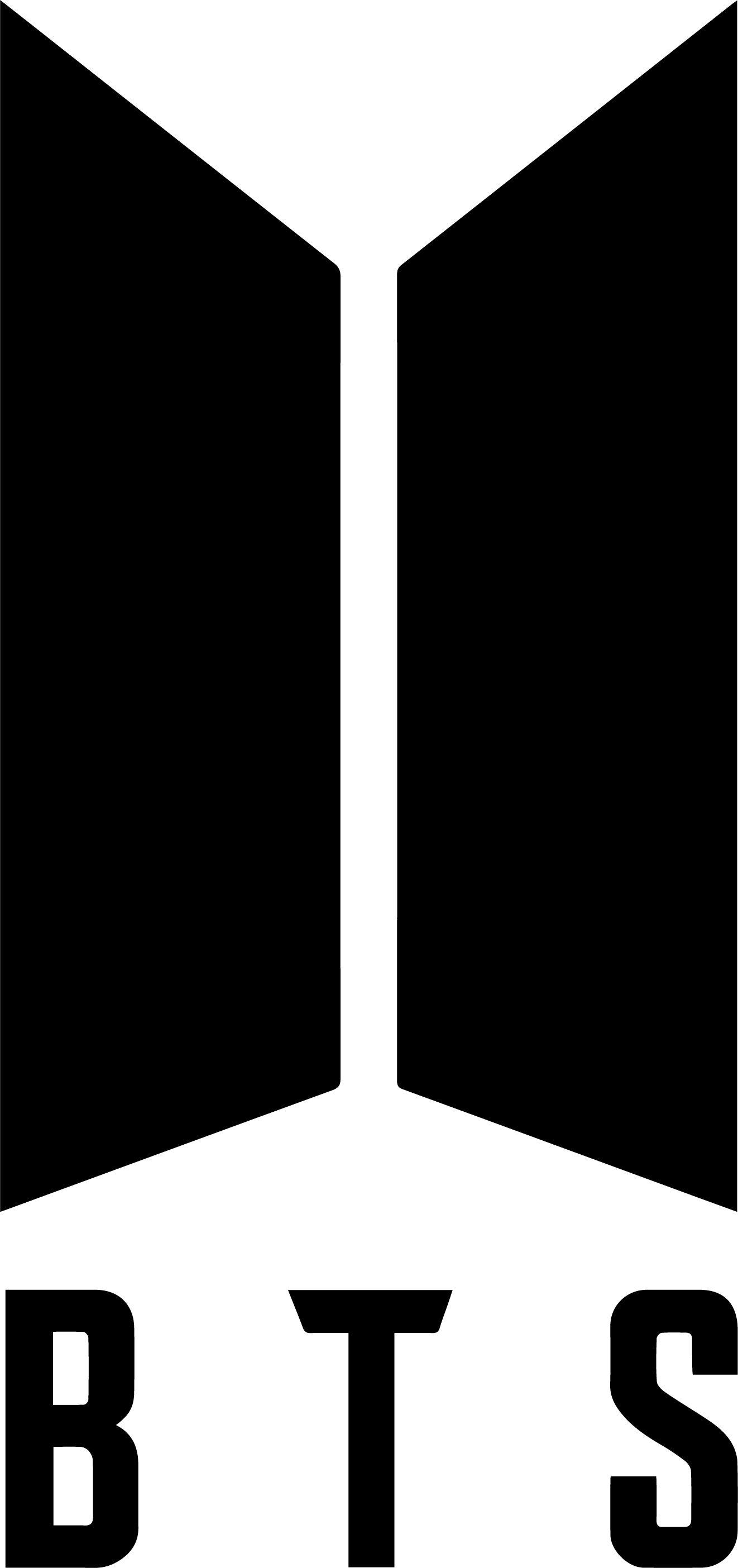 Download BTS Logo Bangtan Band image | Bts army logo, Kpop logos, Bts