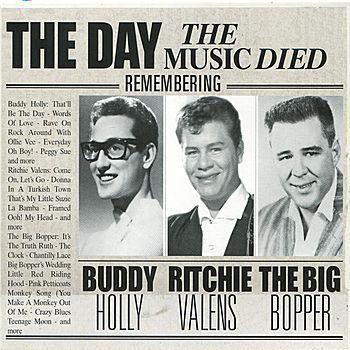 """Resultado de imagen de Buddy Holly, Ritchie Valens and J.P. """"The Big Bopper"""" Richardson"""