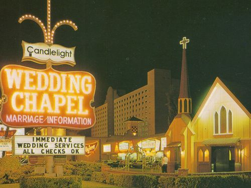 Candlelight Wedding Chapel Married August 31 1985 Sadly They Tore It Down