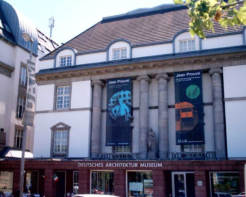 German architecture museum deutsches architekturmuseum for Design museum frankfurt