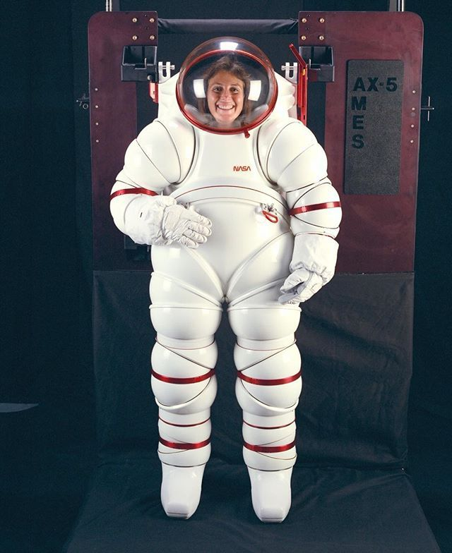 astronauts space suits cooling system - photo #47