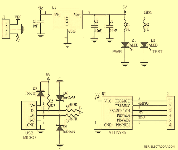 Usb Wiring Diagram Circuit Board Schematics Mini - wiring diagrams