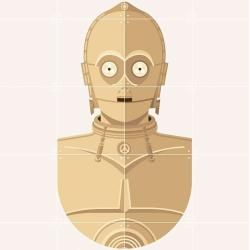 Star Wars Cool Club C-3po Bild #filmposterdesign