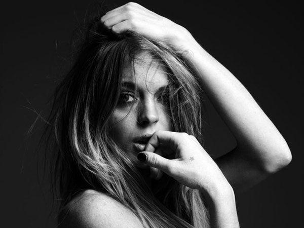 Lindsay Lohan by Hedi Slimane