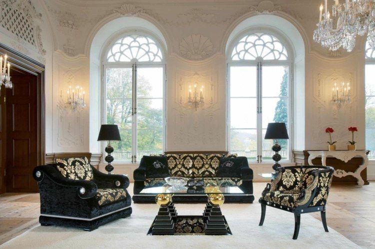 Salon déco style victorien moderne en 48 idées Salle de séjour