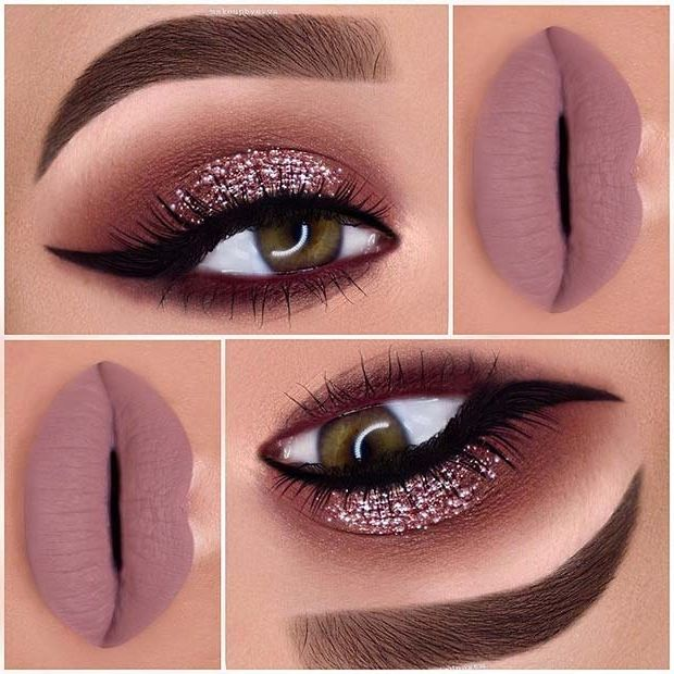 23 Glam Makeup Ideas for Christmas 2017 | Page 2 o