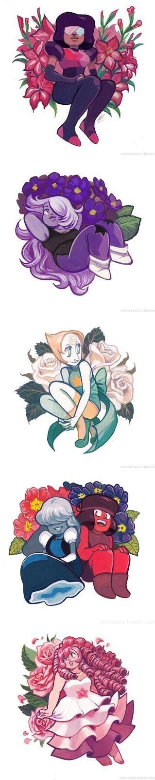 In Bloom - Crystal Gems