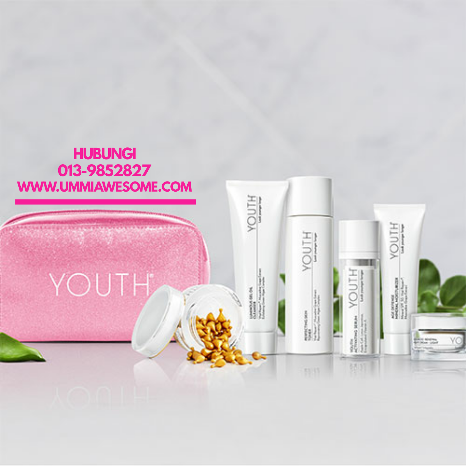YOUTH Shaklee Skincare Set Kecantikan Selamat dan