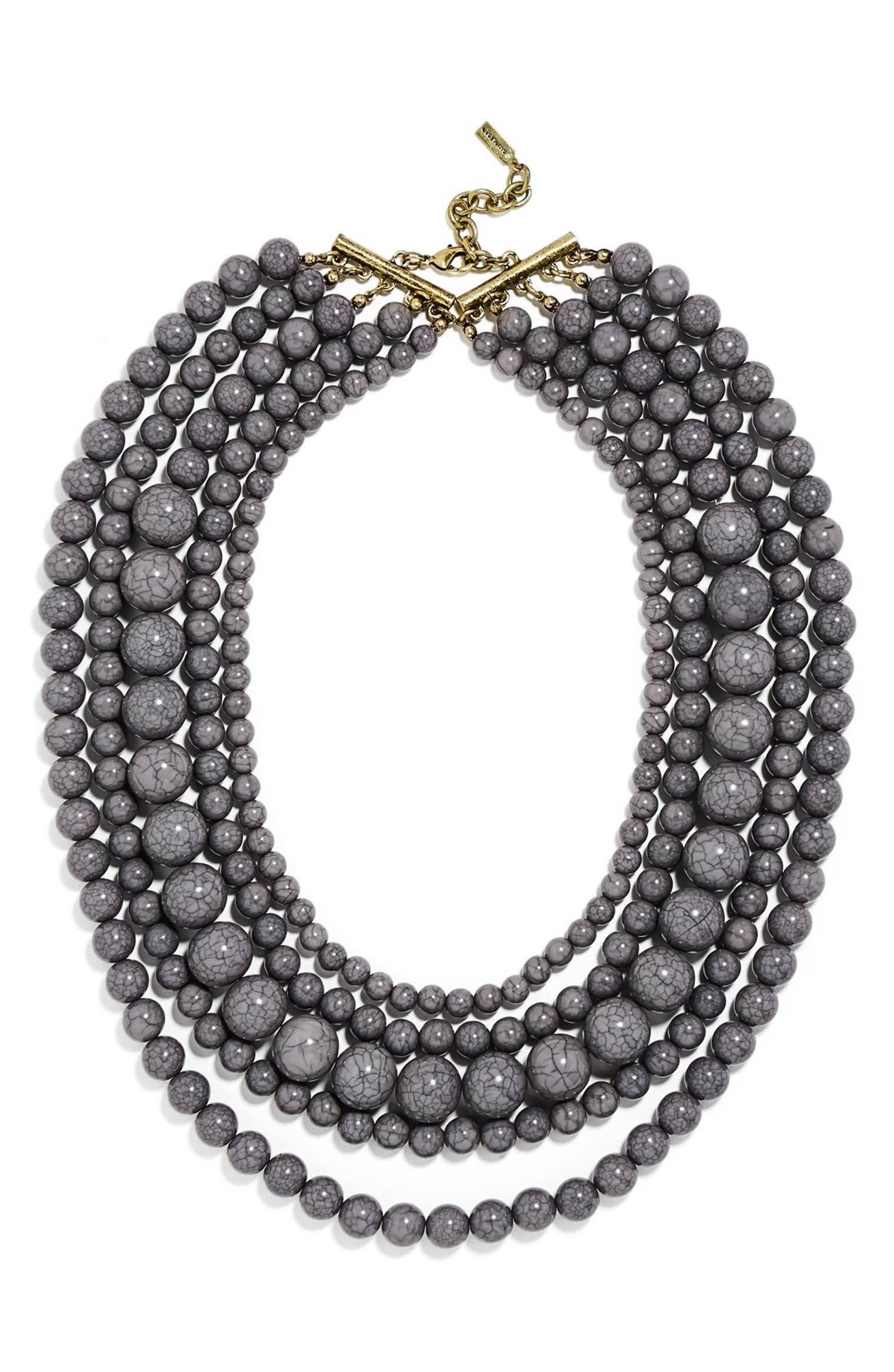 Main Image - BaubleBar 'Globe' Multistrand Beaded Necklace