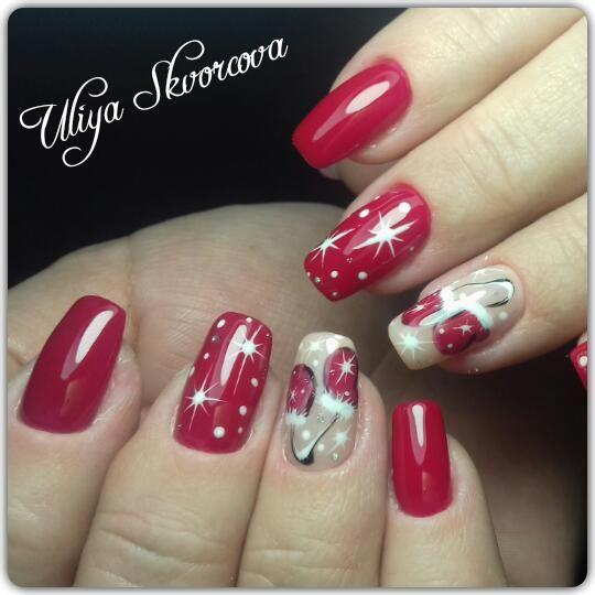 Резултат со слика за photos of  winter nails decorations
