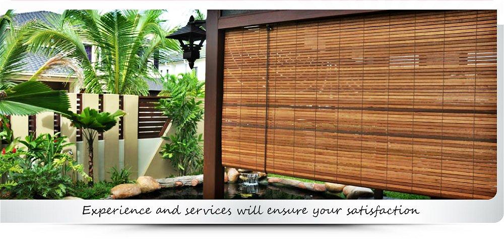 Bamboo Blinds Manufacturer Malaysia Wooden Blinds Supplier Selangor Outdoor Blinds Supply Kuala L In 2020 Outdoor Blinds Outdoor Blinds Patios Vertical Window Blinds
