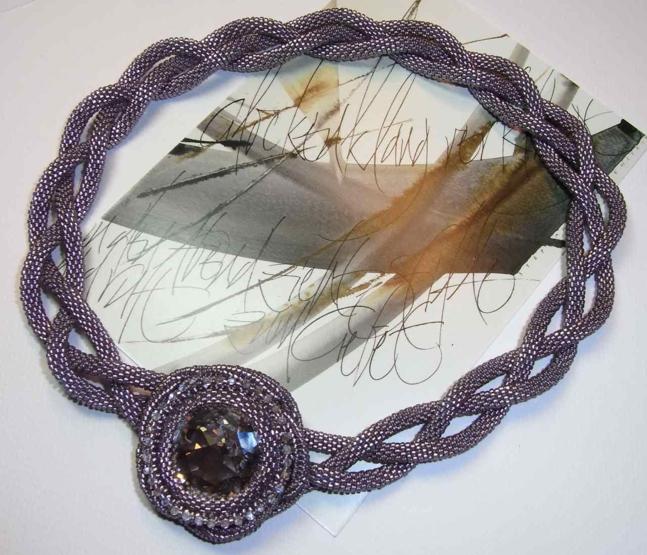 bluepearls Perlen: Geflochten