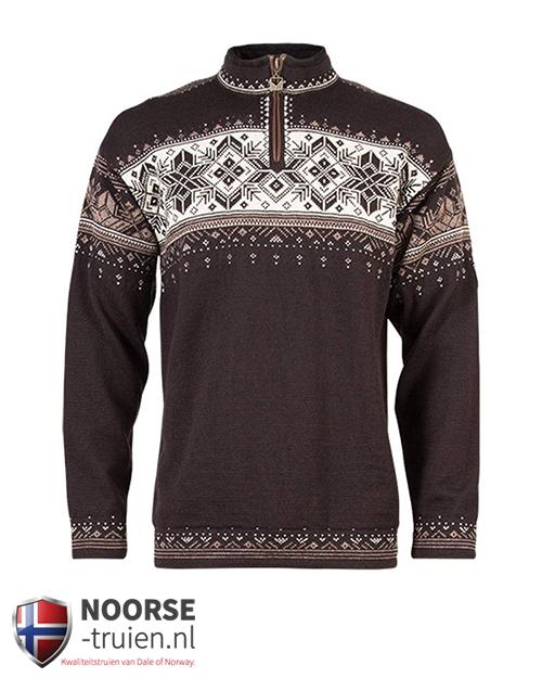 dale of norway heeft deze prachtige noorse trui uitgebracht. blyfell
