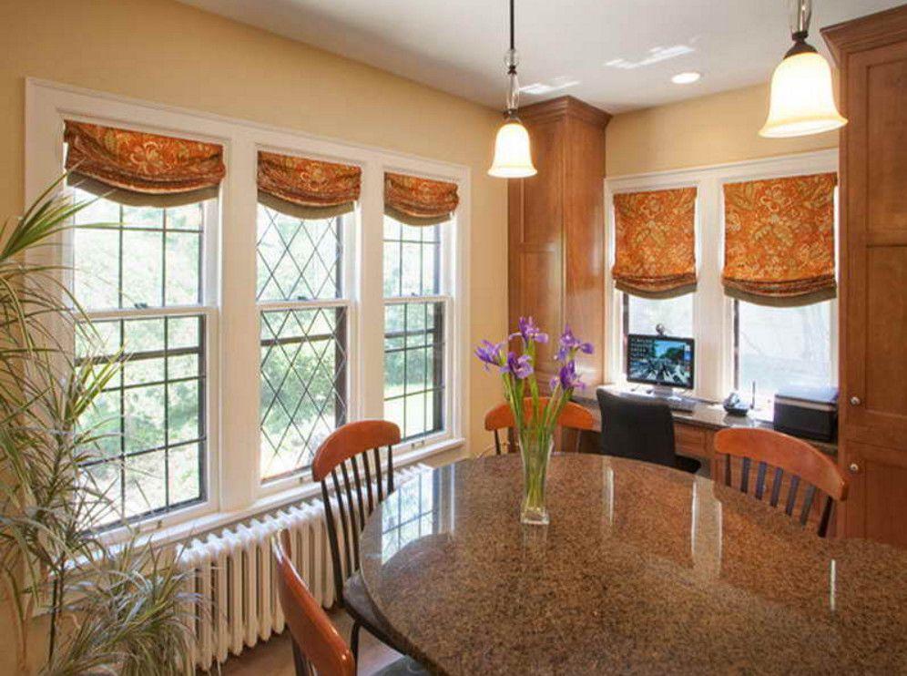 Cottage Window Treatments Guide Modern kitchen window