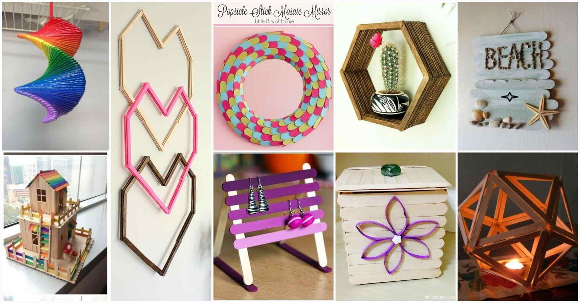 13 Diy Decorative Popsicle Sticks Ideas Diy And Crafts Sewing Wall Art Diy Easy Diy Popsicle