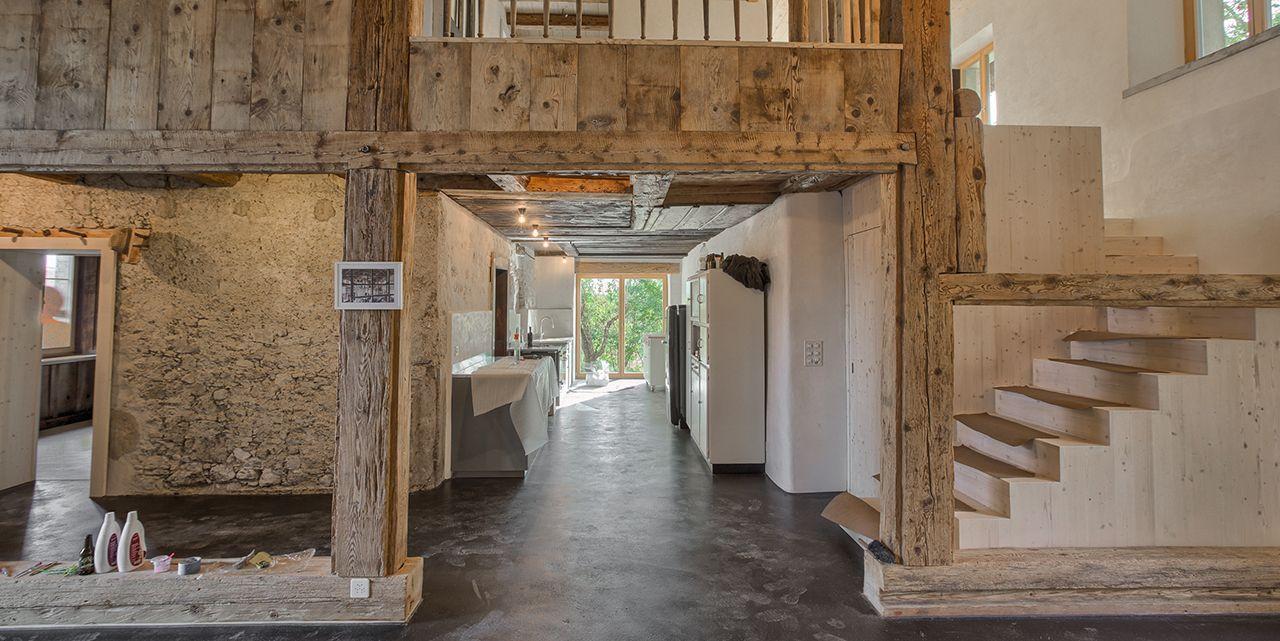 Bildergebnis für bauernhaus umbau Häuser innen/aussen Bauernhaus