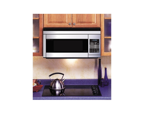 Over The Range Convection Microwave Oven With 850 Cooking Watts 11 Levels 8 Sensor Cook Settings Turntable Convertible Ventilation And Hood Light
