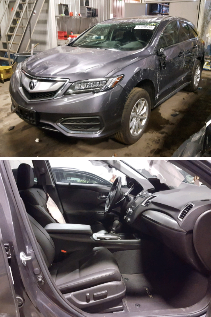 This 2018 Acura Rdx Technology Is Under 12k Miles Run And Drive Verified And Available In Copart Minneapolis North S Online Auto Acura Acura Rdx Salvage Cars