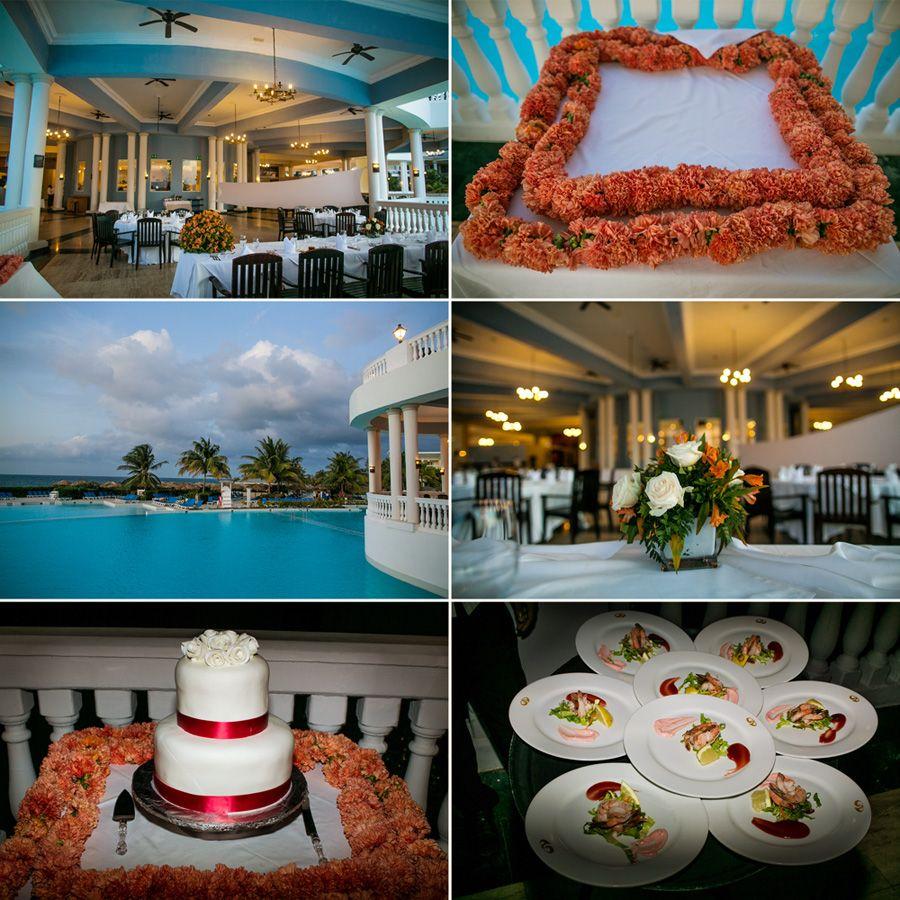 Celebrity Wedding Reception Decor: Grand Palladium Jamaica Wedding Photographer. {jasmine